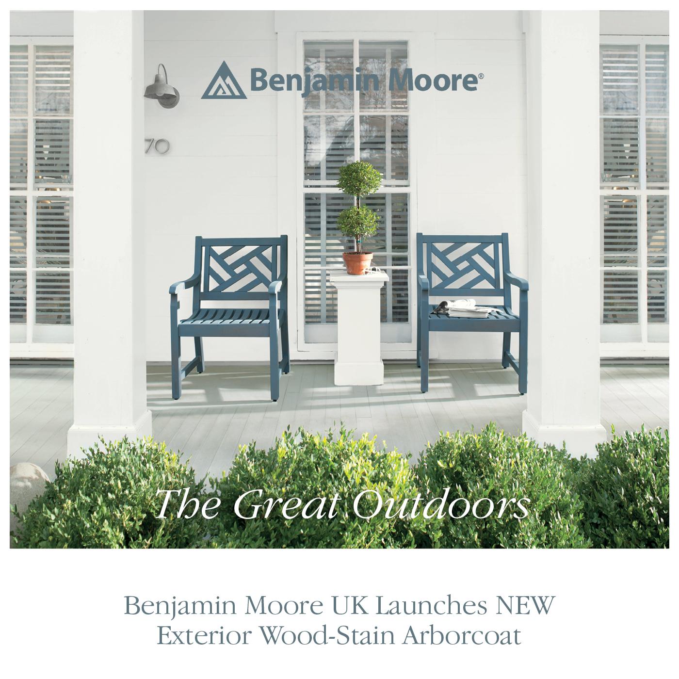 Press release benjamin moore uk launches new exterior - Benjamin moore exterior wood primer ...